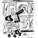 happycalf, washday attire